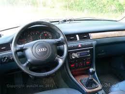 Audi A6 1999 Interior Audi A6 C5 1 9 Tdi 81kw Auto24 Lv