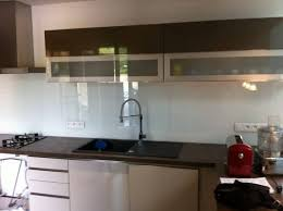 credence cuisine moderne credence en verre pour cuisine 0 de on decoration d interieur