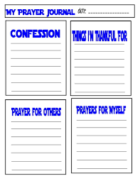 prayer of confession and thanksgiving teaching children about prayer with free prayer journal printable