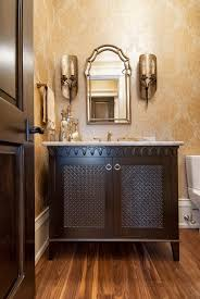 powder room sinks and vanities exquisite powder room vanity with woven panel custom wooden