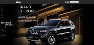 jeep grand website jeep india website goes live list grand grand