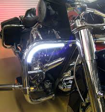 white led motorcycle light kit day strips motorcycle led daytime running lights drl