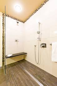 Types Of Bathroom Tile Types Of Shower Drains Bathroom Midcentury With Bamboo Cabinet