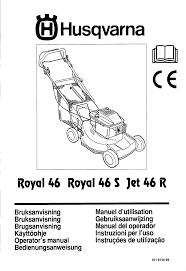 husqvarna lawn mowers jet 46 r pdf user u0027s manual free download