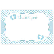 thank you baby shower blue boy baby shower thank you cards m h invites