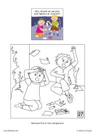 don u0027t play fire coloring pages hellokids