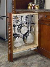 kitchen storage ideas for pots and pans the best tiny house build organizations kitchens and