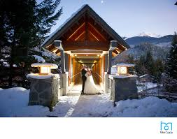 winter wedding venues callaghan valley wedding at whistler olympic park whistler