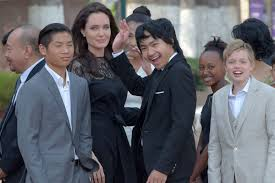 angelina jolie says her kids are u0027in my room u0027 after brad pitt split