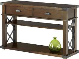 Dark Wood Sofa Table Console Sofa Table With Storage Drawers Espresso Finish Dark Wood