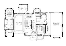 single story floor plans with open floor plan wonderful house plans open floor layout one story ideas exterior