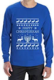 happy hanukkah sweater happy chrismukkah hanukkah sweater sleeve t
