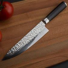 damascus kitchen knives damascus chef knife custom manufactured ebay