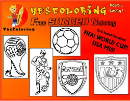 pro soccer coloring pages