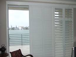 roller shades for sliding glass doors sliding u0026 french doors rockwood shutters blinds and draperies