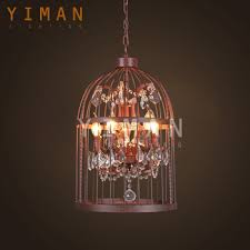Bird Cage Chandelier Unique Lamp Shades Classic Bird Cage Chandelier With Crystal Buy