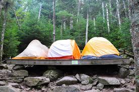 Building A Tent Platform The Appalachian Trail Conservancy Thru Hiking Camping