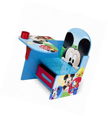 disney chair desk with storage delta children chair desk with storage bin disney mickey mouse ebay
