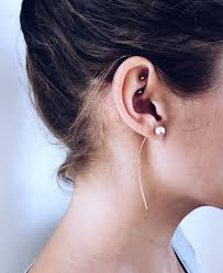 invisible earrings for school best 25 rook piercing ideas on rook ear peircings