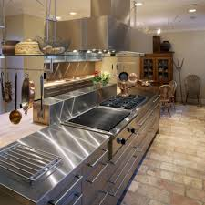 Commercial Stainless Steel Kitchen Cabinets by Pros And Cons Stainless Steel Countertops For Your Kitchen Ward