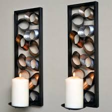 Candle Sconces Pottery Barn Wall Ideas Wall Candle Ideas Large Wrought Iron Candle Wall