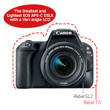 Canon Rugged Camera Dslr Eos Rebel Sl2 Ef S 18 55mm Is Stm Canon Usa