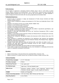 Sample Resume Skills Profile Analytical Chemist Resume Format Isabellelancrayus Extraordinary