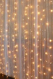 wedding backdrop lighting kit chiffon fairy lights beaded curtains real wedding