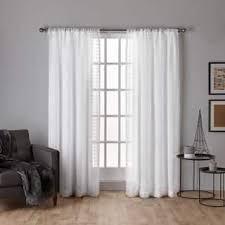 3 Inch Rod Pocket Sheer Curtains Rod Pocket Sheer Curtains Shop The Best Deals For Nov 2017