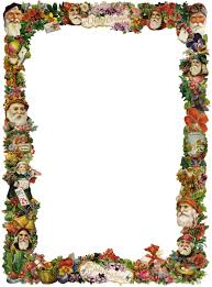 victorian christmas borders clipart clipart kid unique picture