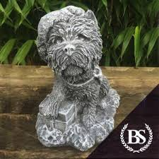westie garden ornament mould brightstone moulds