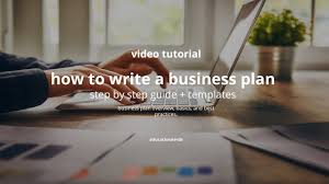 tutorial youtube pdf how to write a business plan step by guide templates youtube pdf
