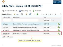 using ibm maximo safety plans