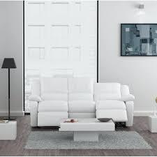 canapé relax simili cuir canape 3 places 2 relax canapa sofa divan relax canapac 3 places