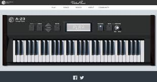 piano keyboard with light up keys virtual piano the best online piano keyboard with songs
