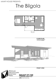 Granny Flat Floor Plans 1 Bedroom by Maap Designs Gallery U2014 Maap House