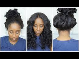 tutorial for black bonded weave hairstyles 360 lace frontal install tutorial wig making l no glue l no hair