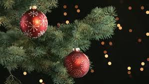 Christmas Decorations Video Lights by Christmas Decorations Background 15 Alpha Channel Stock Footage
