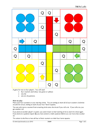maths ludo revision puzzles and games