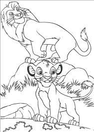 lion king coloring pages mufasa sarabi simba simba mufasa