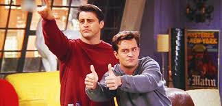 Chandler Meme - 25 moments when joey and chandler won at friendship