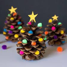 craft smart mini glue gun low temp pine cone christmas tree