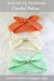 free knot me up headband crochet pattern 13 easy cute and free