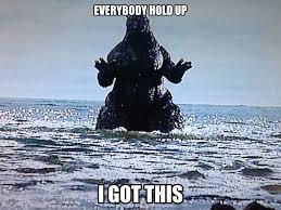 Godzilla Meme - godzilla and little godzilla by hazique meme center