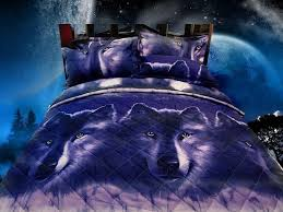 Wolf Bedding Set Home Essence 4 Bedding Set King Yellow Tokida For