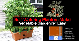 How To Make A Self Watering Planter by How 5 Self Watering Planters Make Vegetable Gardening Easy