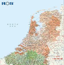Map Netherlands Netherlands Vector City Maps Eps Illustrator Freehand Corel