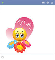 Smiley Flowers - flowers for you emoticon smiley and smileys