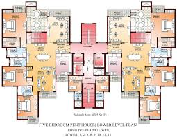 5 room house plan drawing sale modern plans free front bedroom