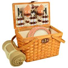 picnic basket set for 2 the well appointed house luxuries for the home the well